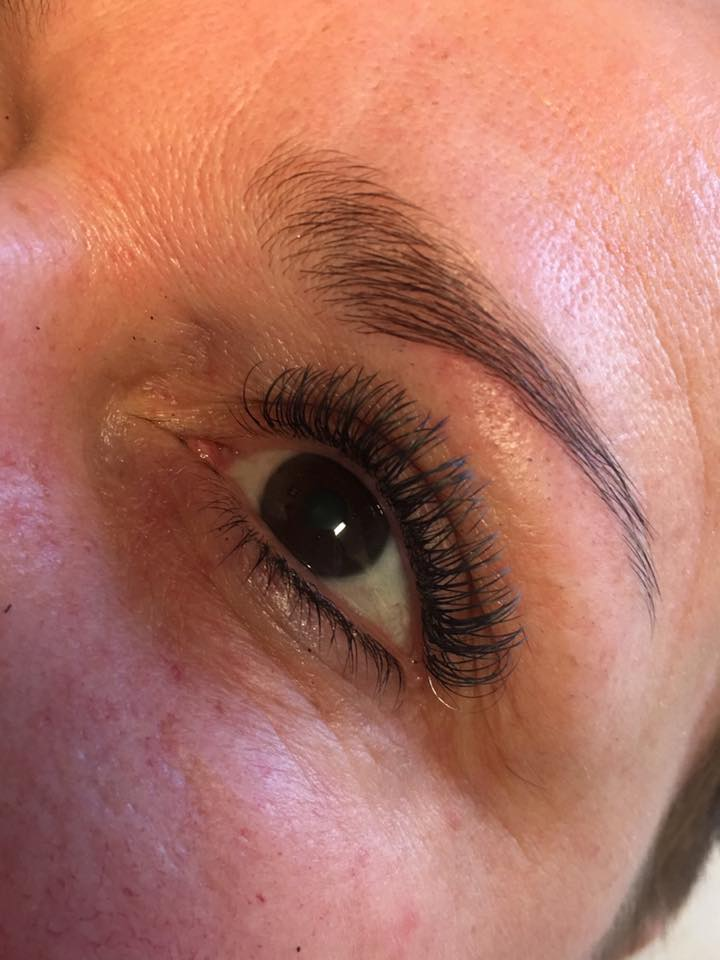 one by one wimperextensions